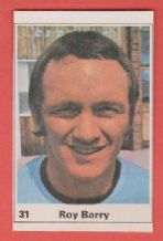Coventry City Roy Barry